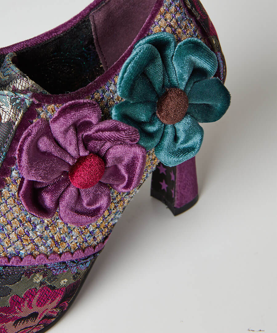 Blossom Couture Shoes Model Back