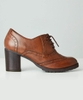 Elinor Leather Brogue Shoes