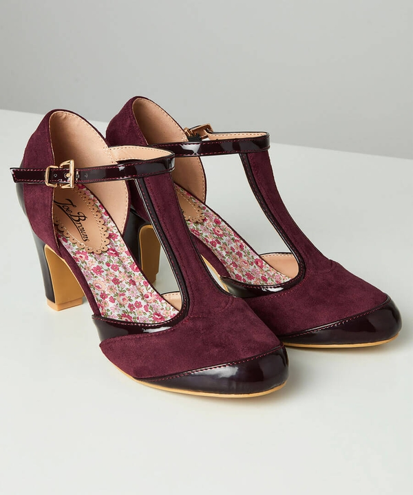 Perfectly Vintage T-Bar Shoes