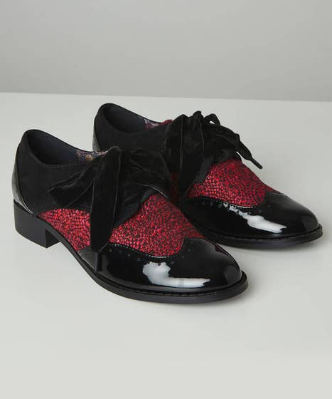 Lovely And Lush Brogue Shoes