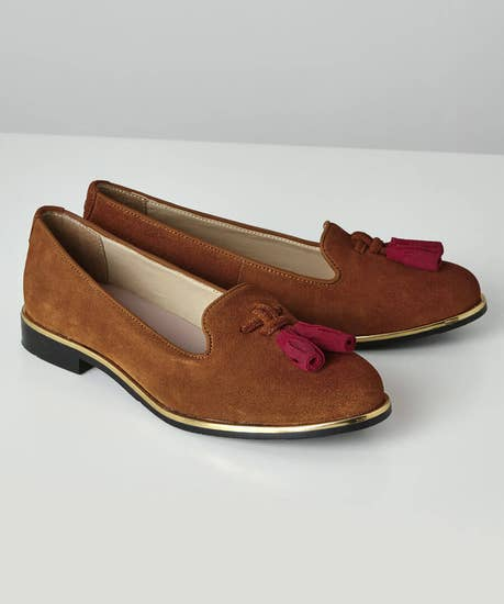 Manor Row Suede Loafers