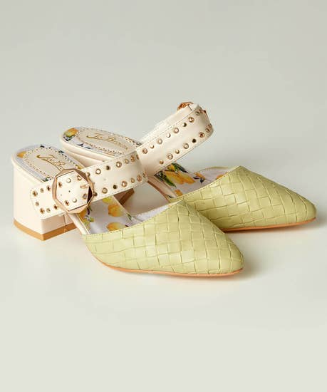 Youre Sensational Studded Mules