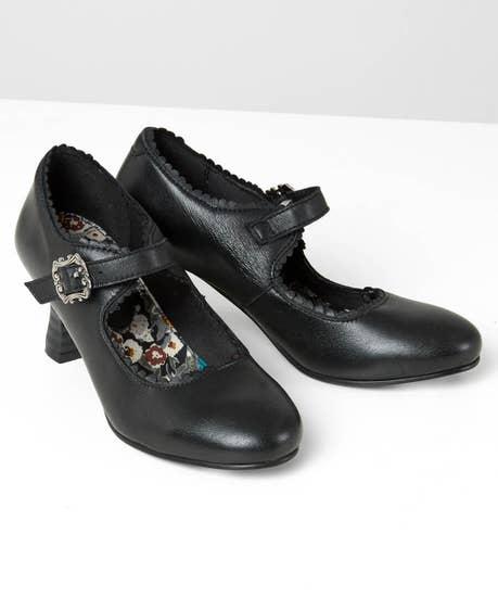 Flirty Francesca Leather Shoes