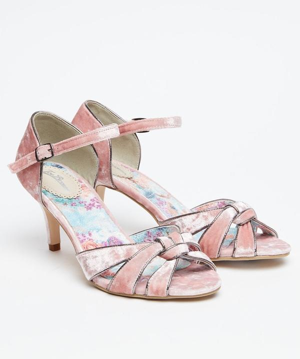 Heaven Sent Velvet Shoes