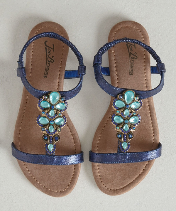 Jewel Of The Night Sandals