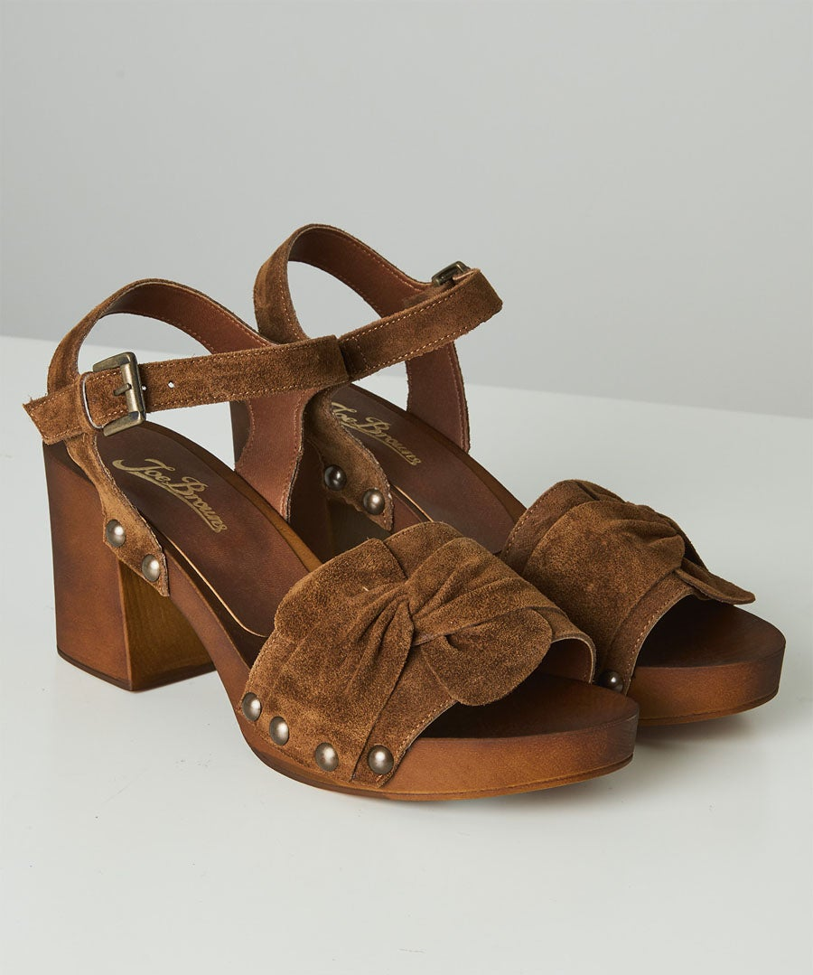 Roman Holiday Suede Shoes Model Front