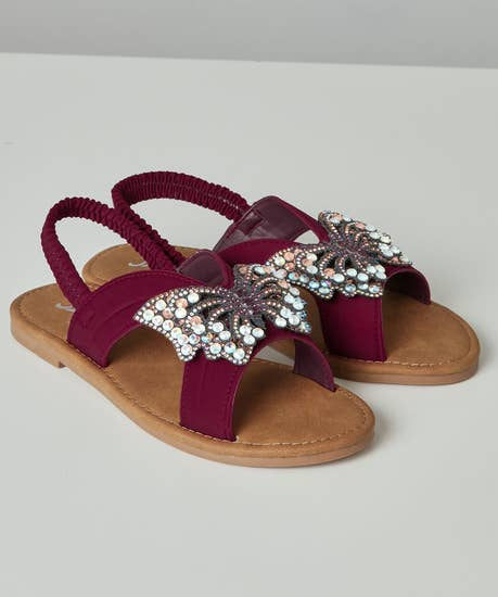 All In A Flutter Sandals