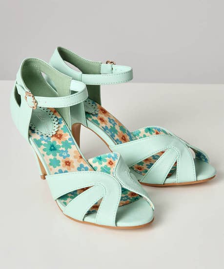 Sweet Polly Heeled Sandals