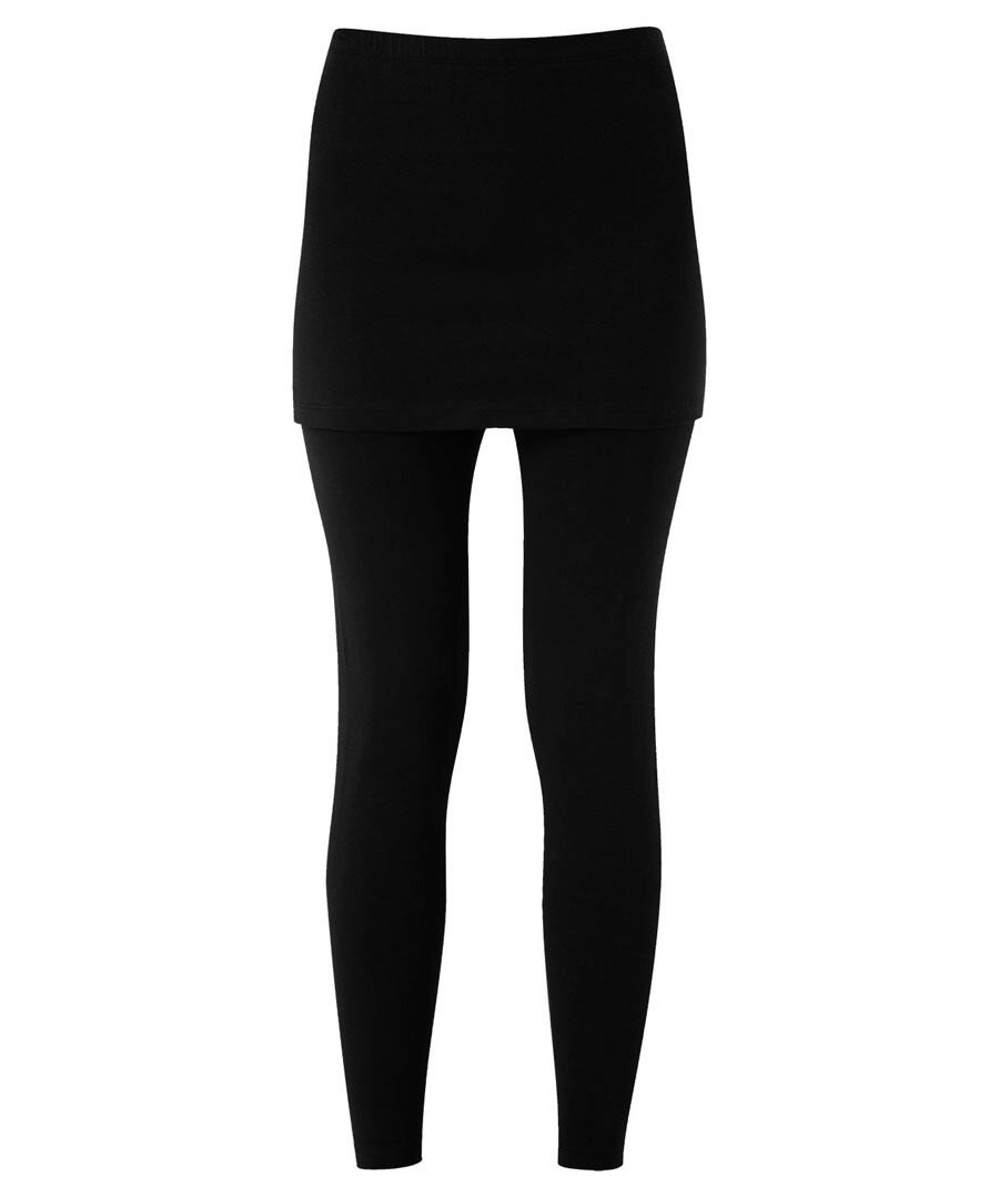 The Essential 2 In 1 Leggings Model Front