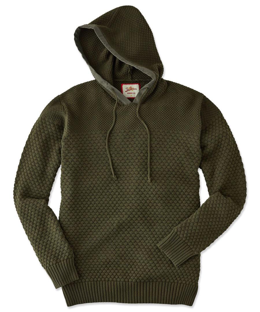 Hoody Knit Model Front