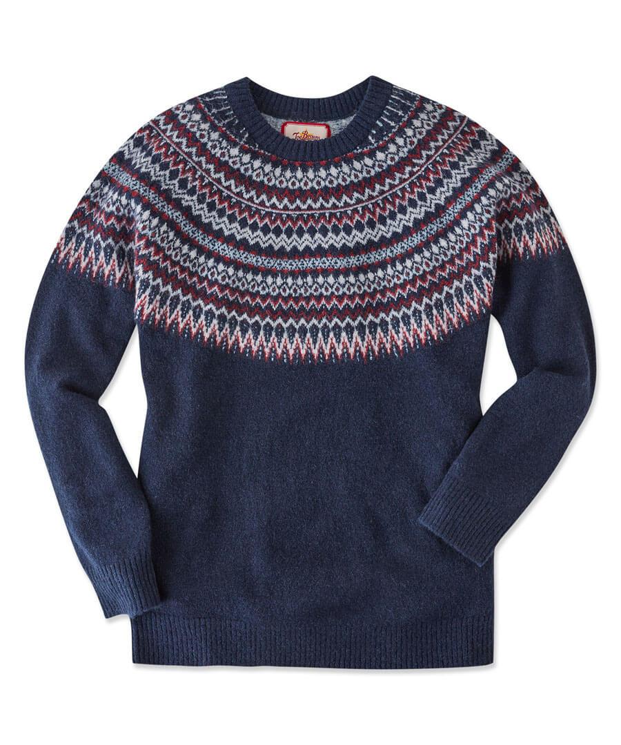 Wonderful Winter Knit Model Front