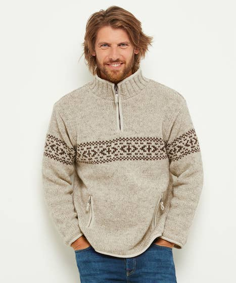 Chunky Funnel Knit
