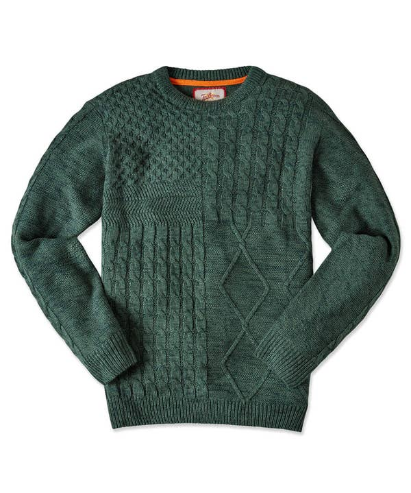 Mix It Up Cable Knit