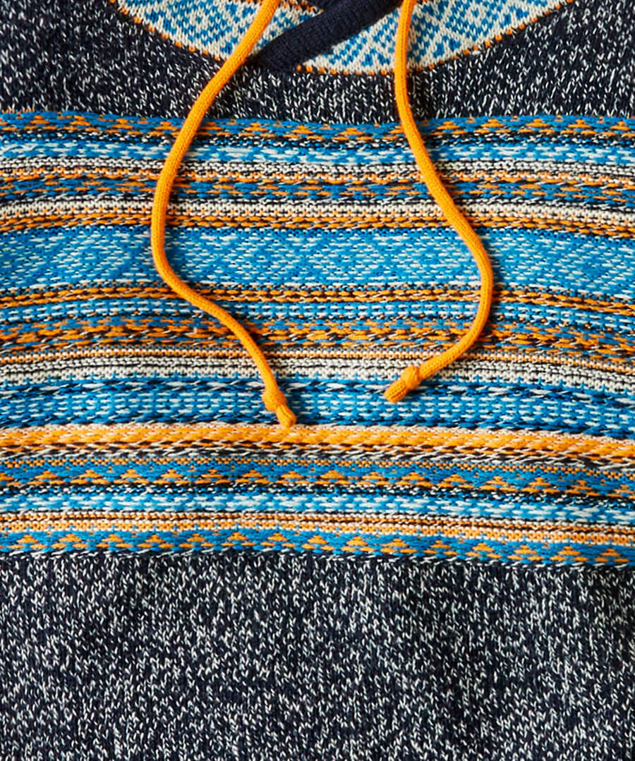 Funky Funnel Knit Back