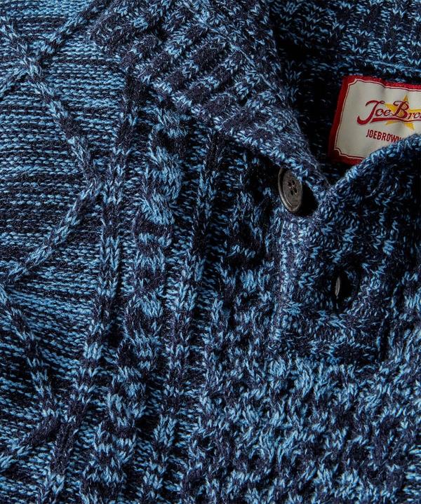 Rocky Funnel Knit