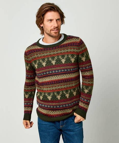 Festive Fairisle Knit