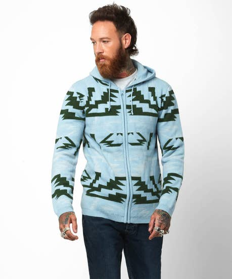 On The Slopes Zip Hood