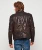 Rugged Leather Jacket