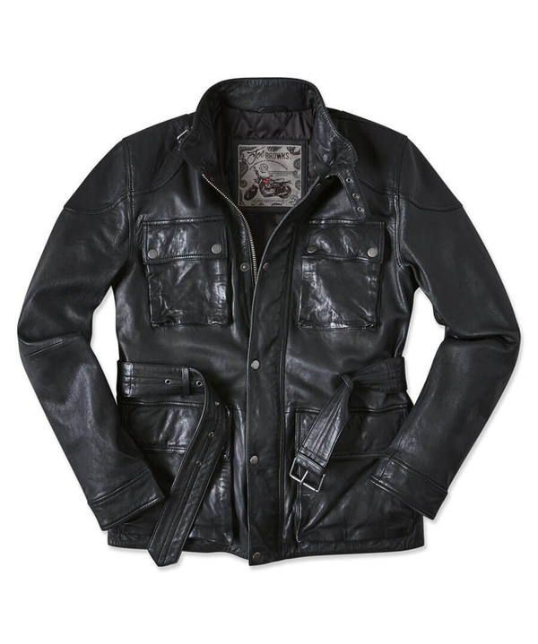 Perfect Pocket Leather Jacket