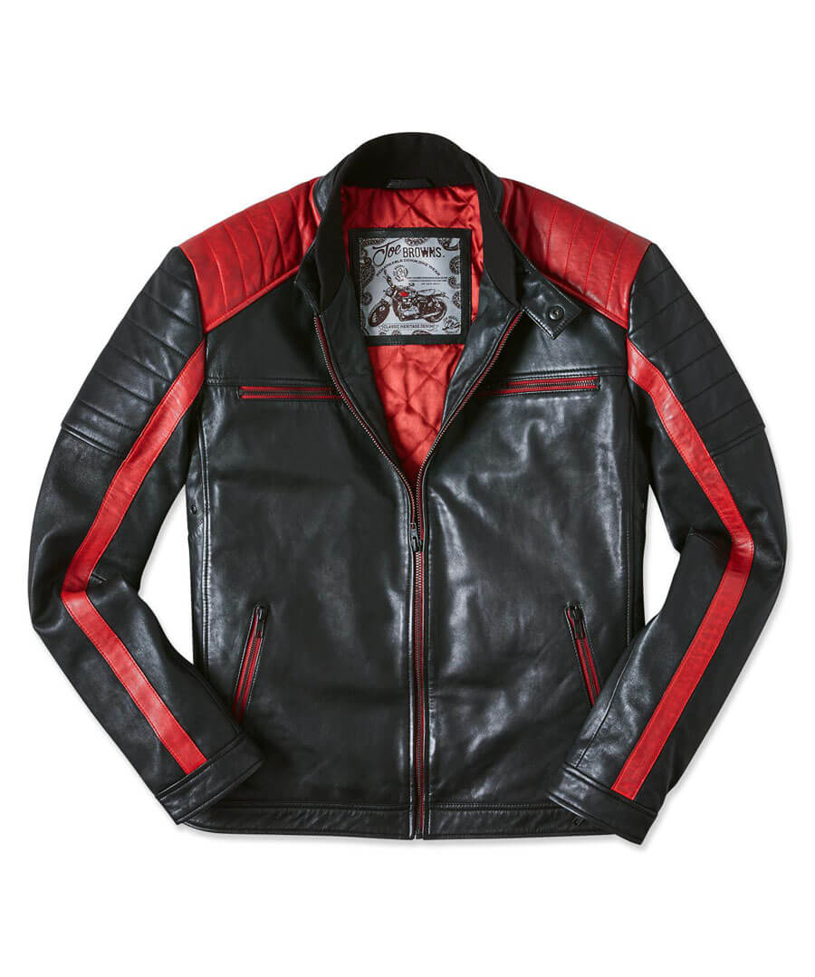 Hit The Road Leather Jacket Back