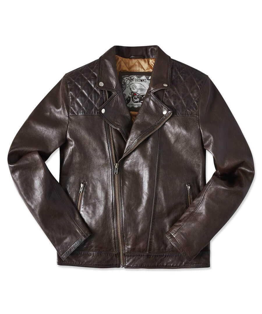 Aged To Perfection Leather Jacket Back