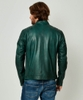 Feel The Speed Leather Jacket