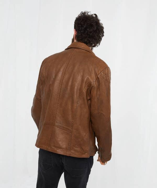 Burner Leather Jacket