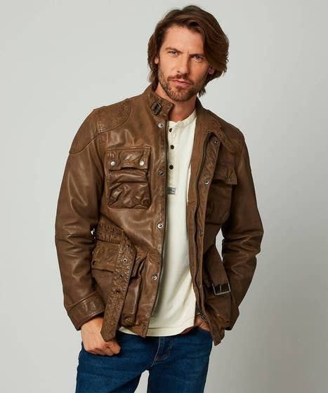 Classic Yet Cool Leather Jacket