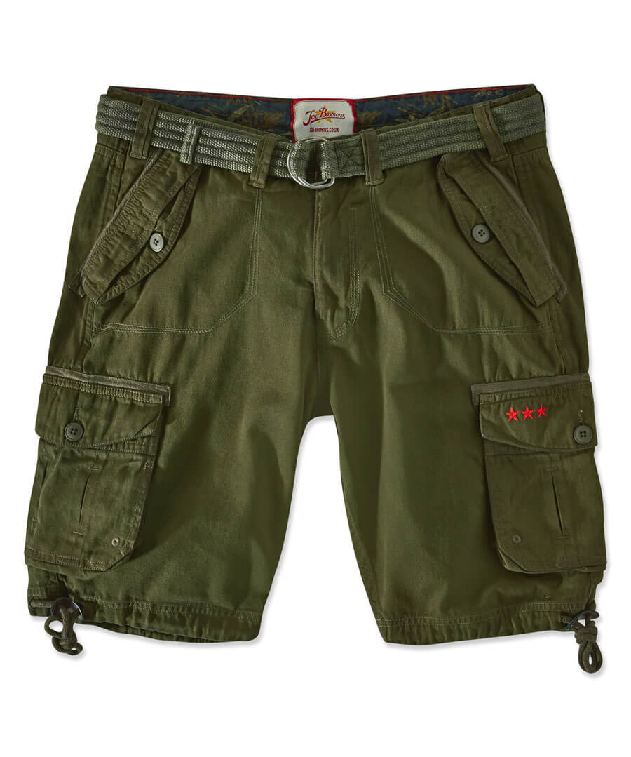Hit The Action Shorts Model Front