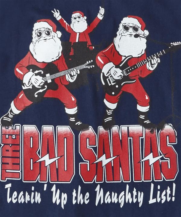 Three Santas T-Shirt