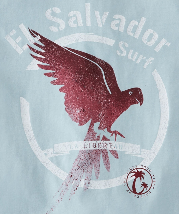 El Salvador Surf T-Shirt