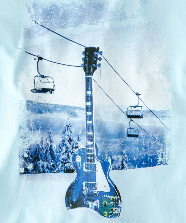 Rockin' The Slopes Winter Tee