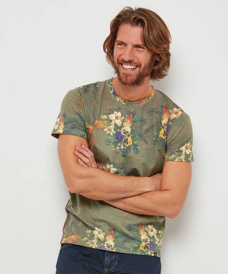 Tropical All The Way Tee