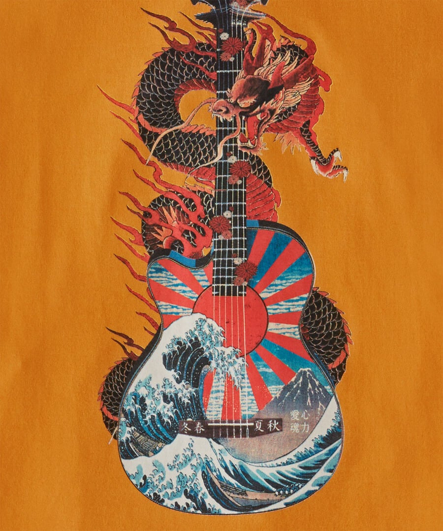 Wild About Music Tee Back