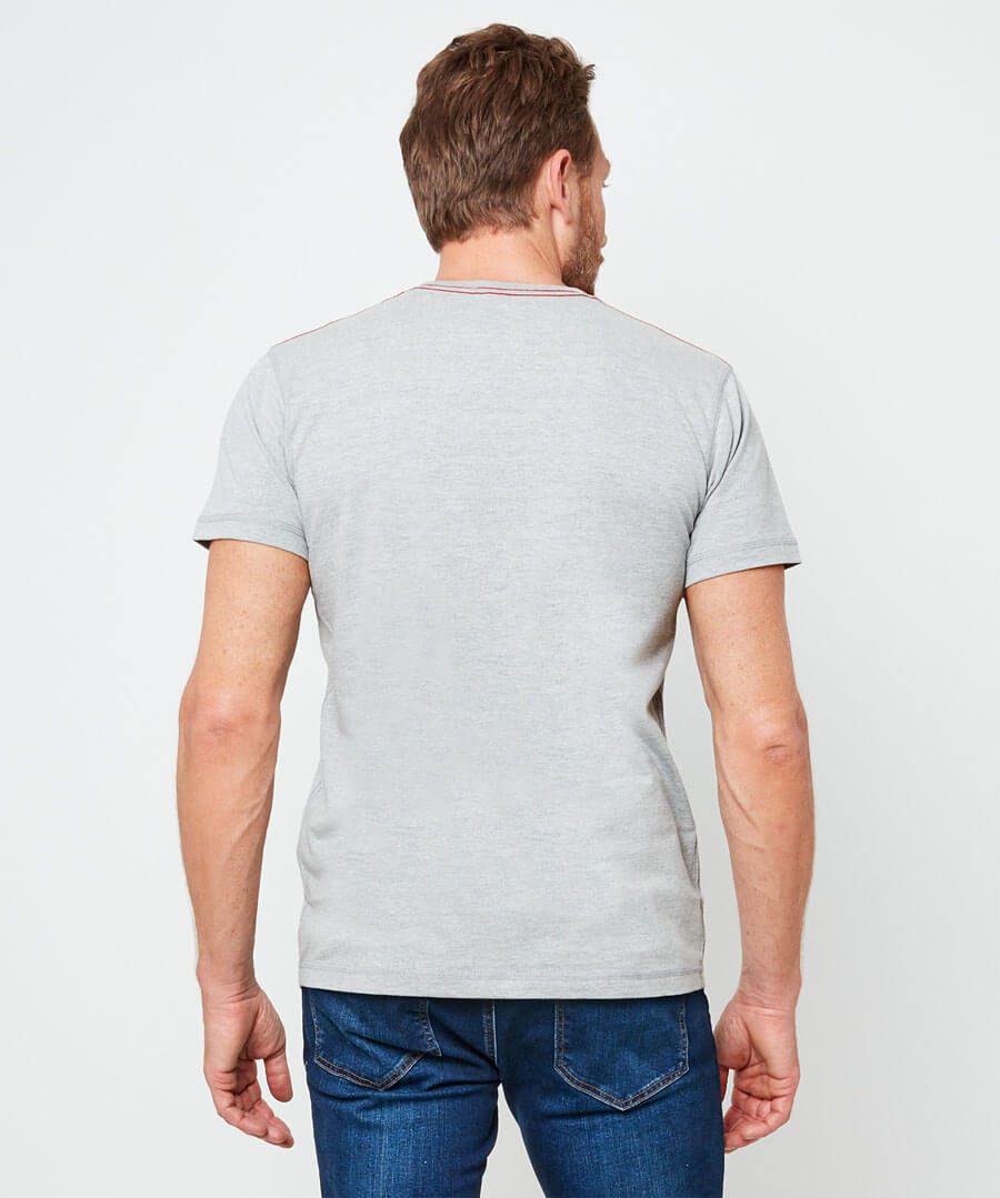 VW Adventure Tee Model Back