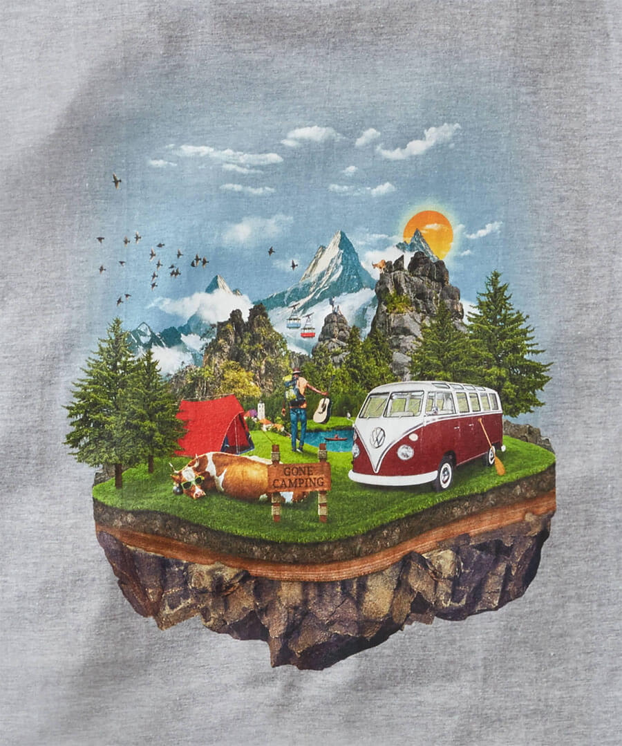 VW Adventure Tee Back