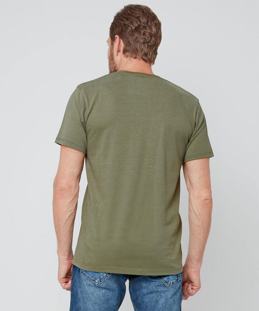 The Old School T-Shirt Model Back