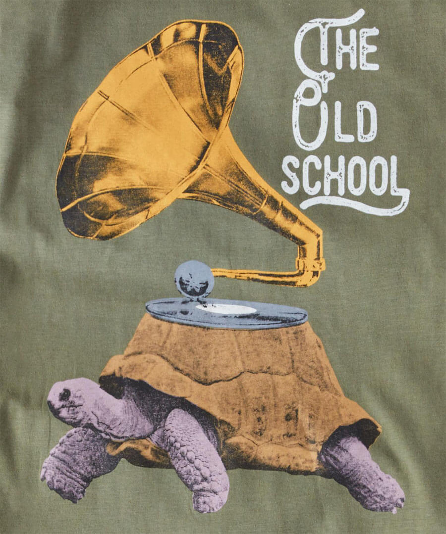 The Old School T-Shirt Back