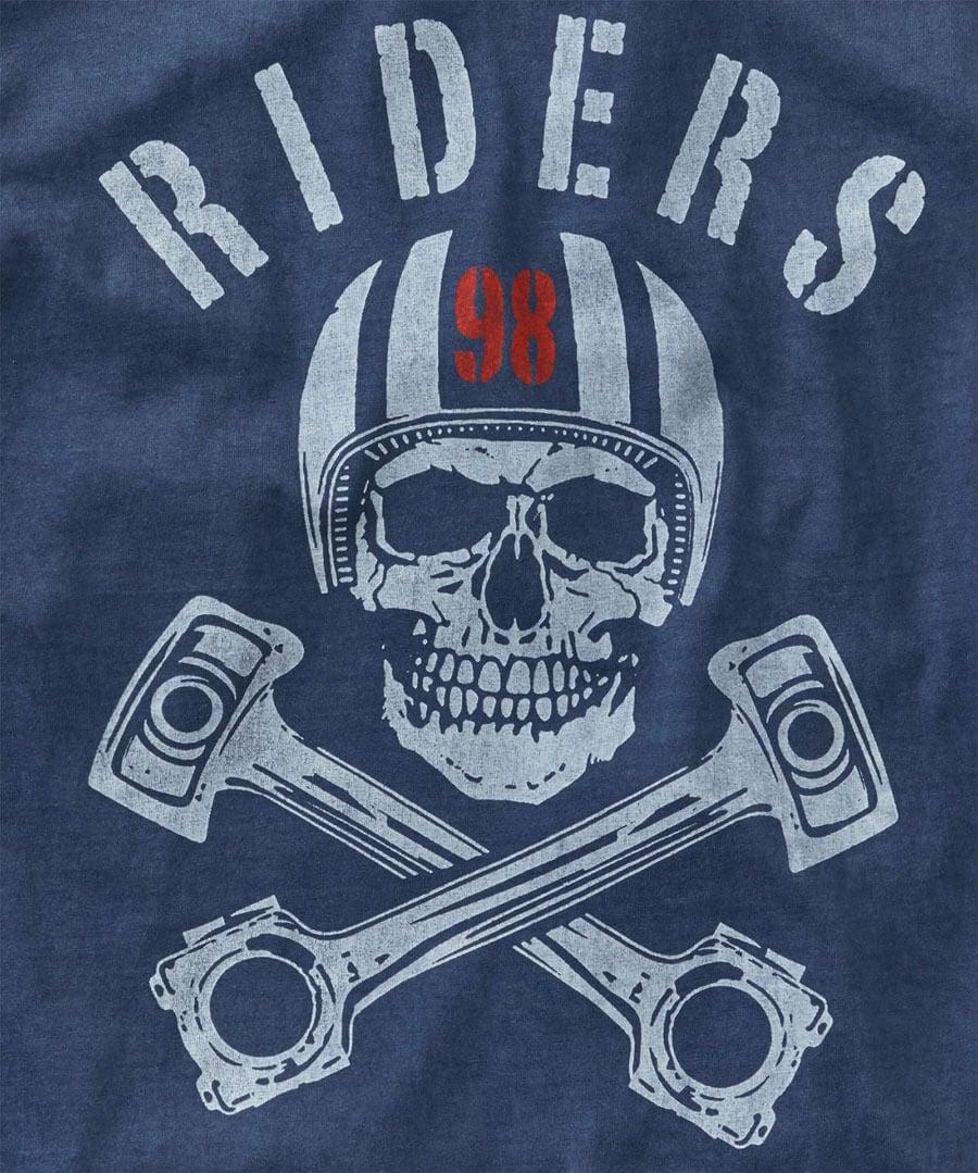 Riders T-Shirt Back