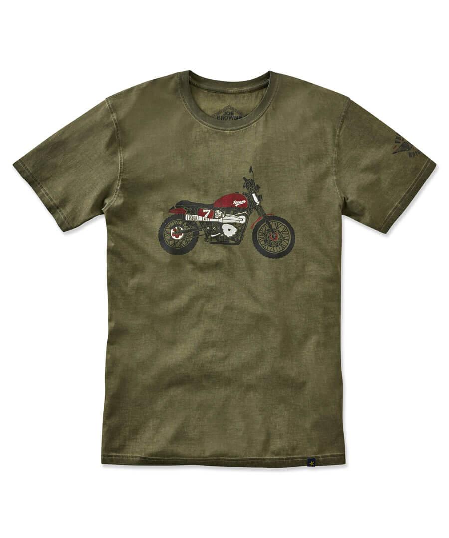 Browns Bike T-Shirt Model Front