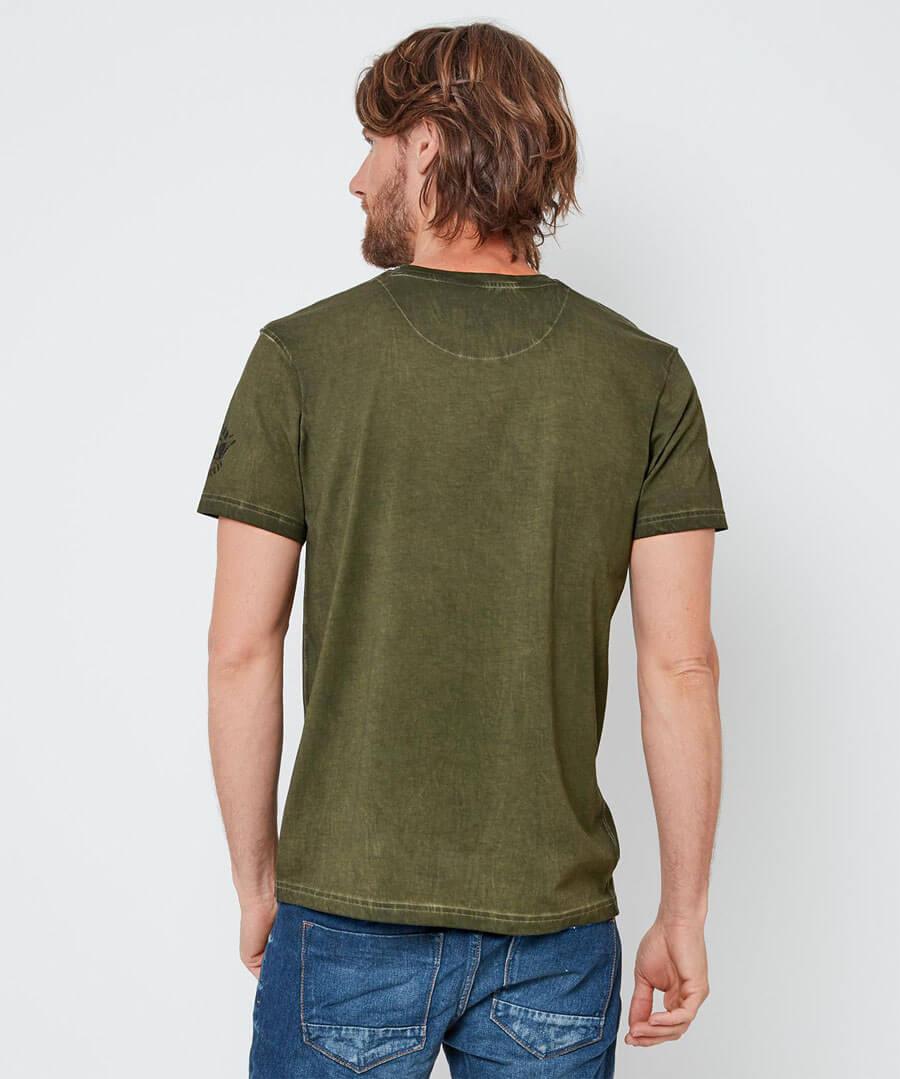 Browns Bike T-Shirt Model Back