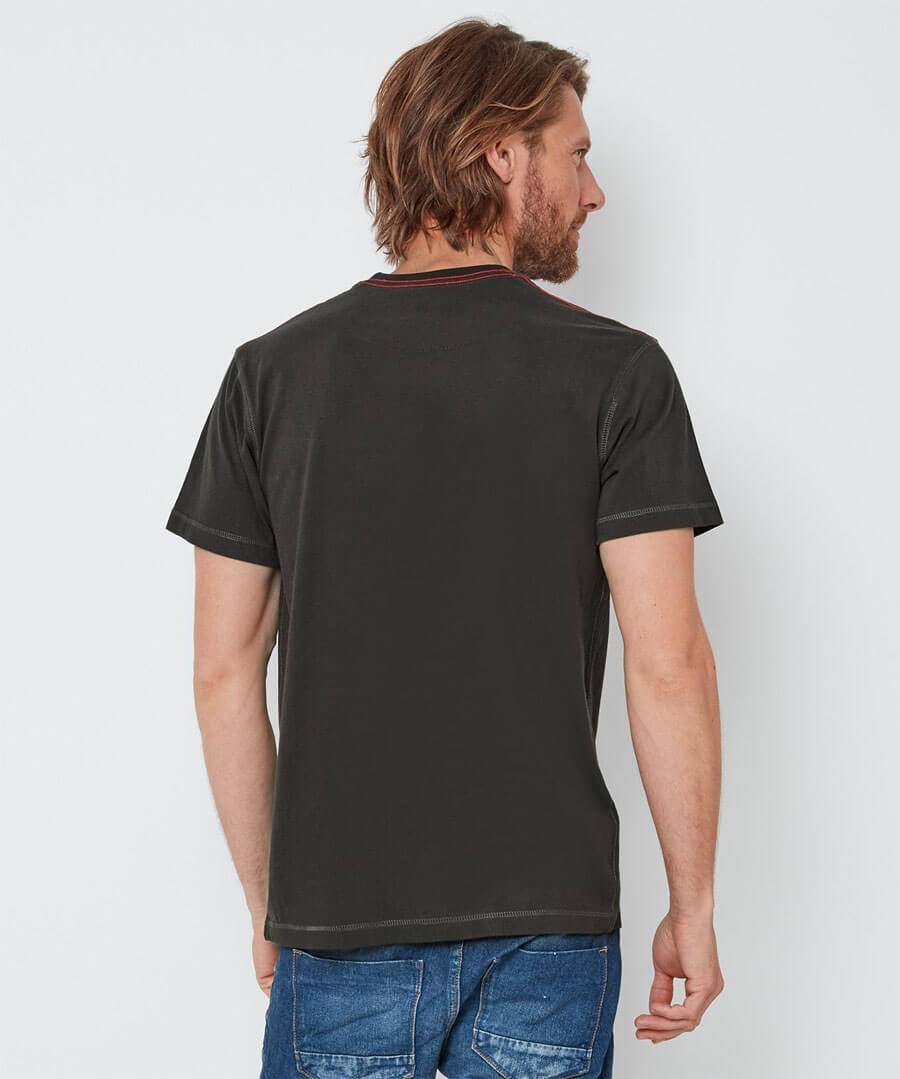 Dogs Best Friend T-Shirt Model Back