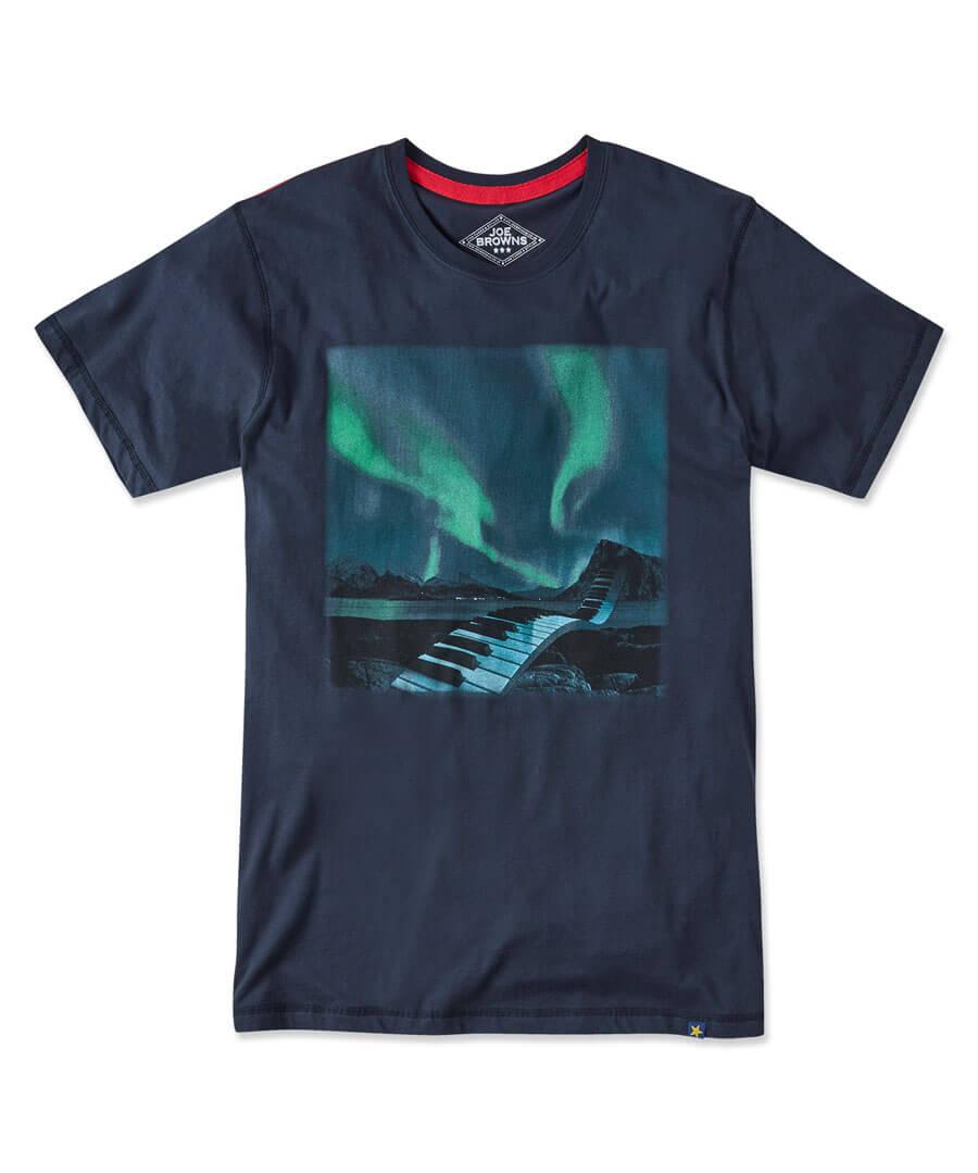 Sensational Sounds T-Shirt Model Front