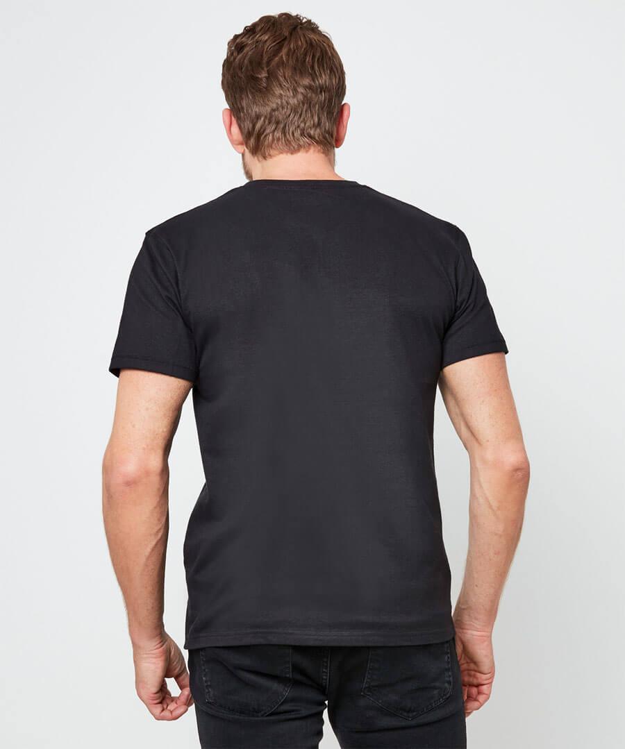 Ice Guitar T-Shirt Model Back