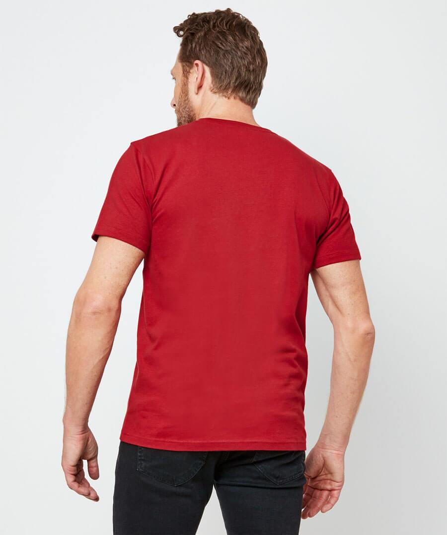 Rocking X-Mas T-Shirt Model Back