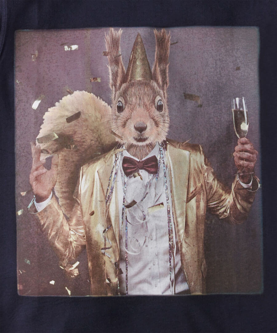 Party Squirrel T-Shirt