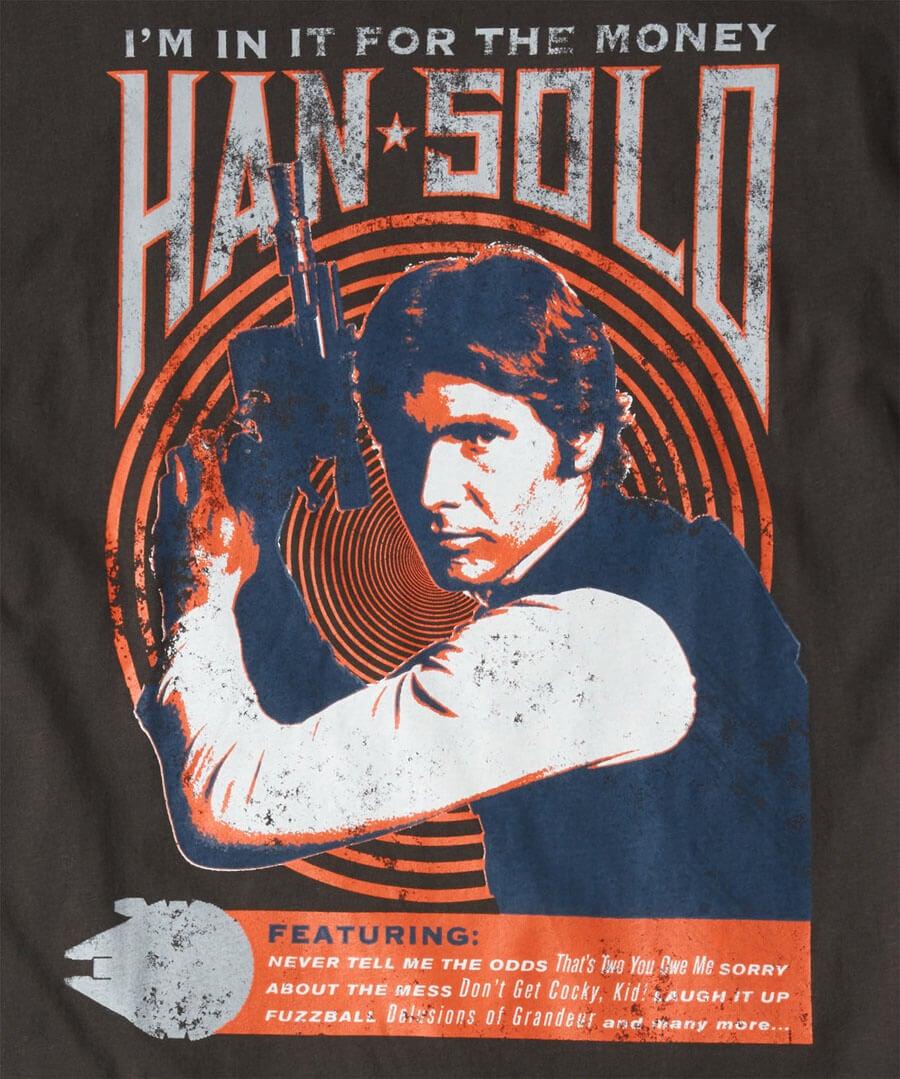 Star Wars Han Solo Tee Back