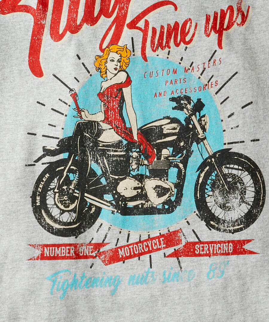 Tillys Tune Up Tee Back