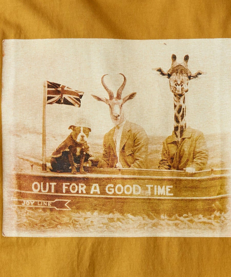 Out For A Good Time Tee Back