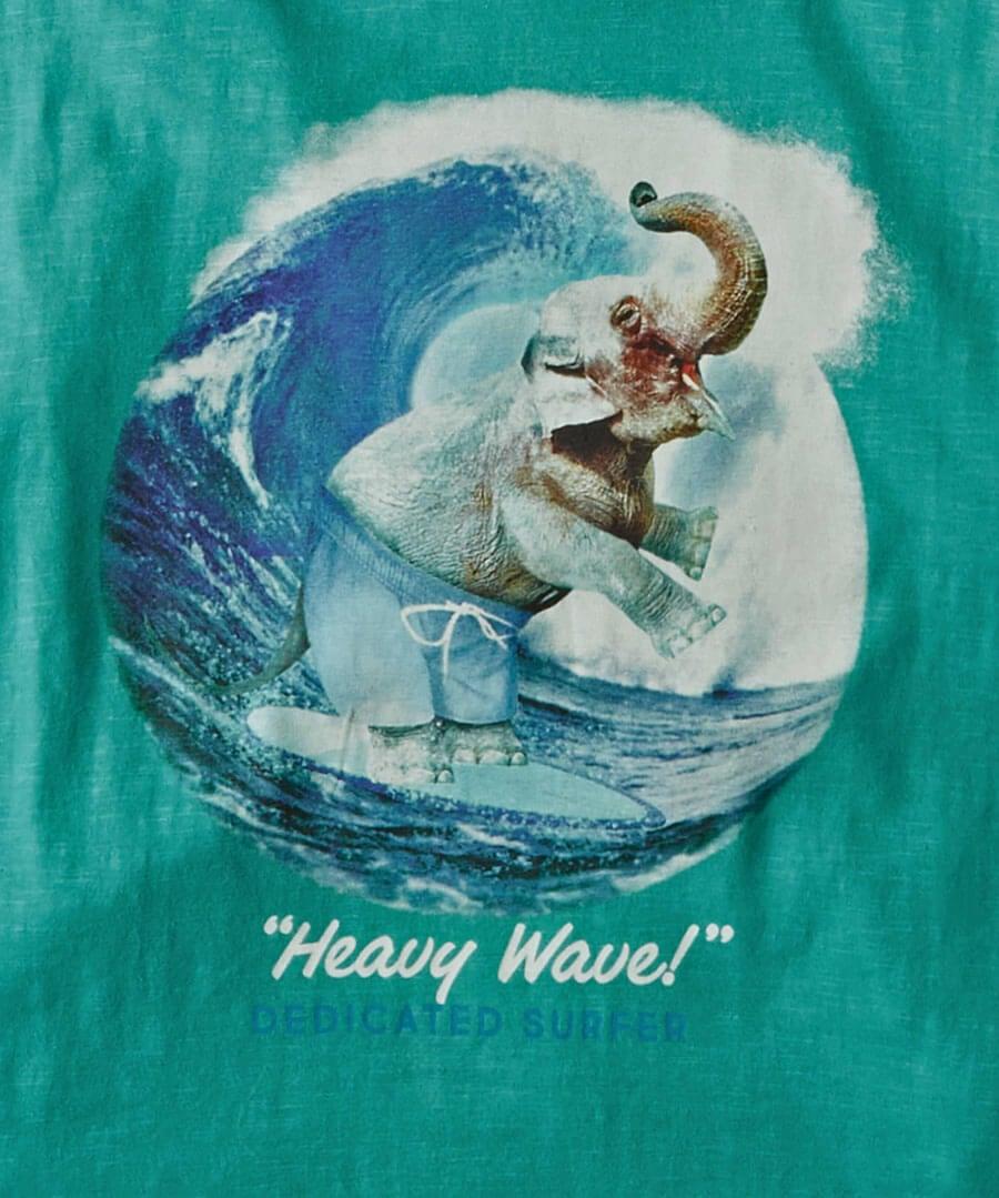 Heavy Wave Tee Back